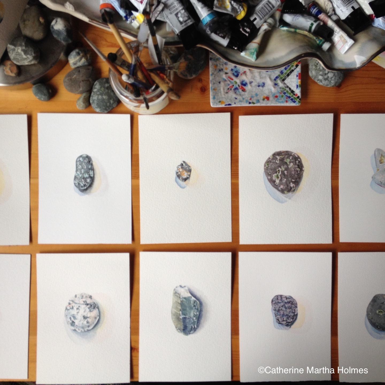 Stones in Studio